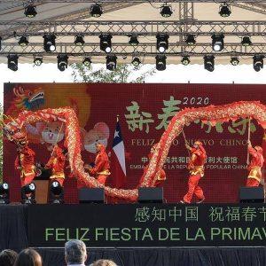 Año nuevo Chino 2019, Fesiluz, santiago.